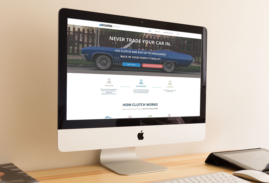 UseClutch.com - Landing Page Redesign